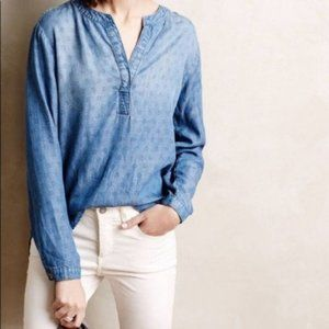 🛍3 for $25 🛍 Cloth + Stone Chambray Top